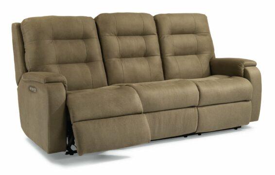 Flexsteel Arlo Power Lumbar Sofa