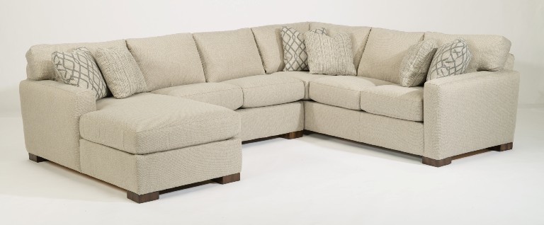 flexsteel bryant sectional