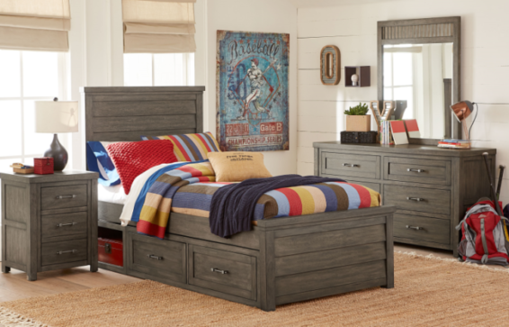 Bunkhouse Twin Storage Bed