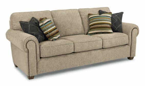 flexsteel carson sofa