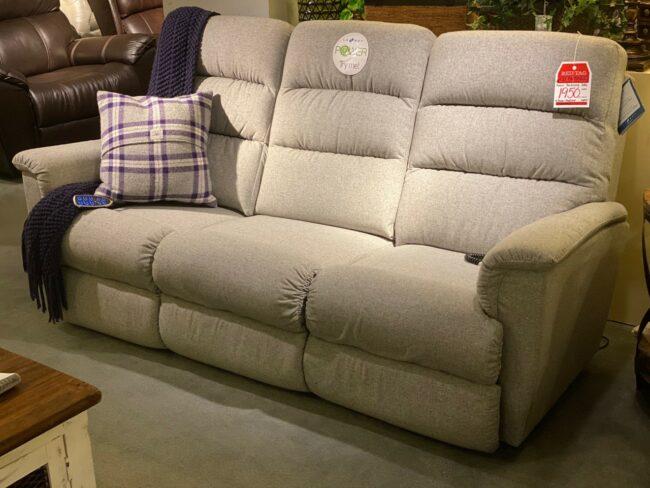 Lazboy Power Lumbar Sofa Johnson Furniture Mattress