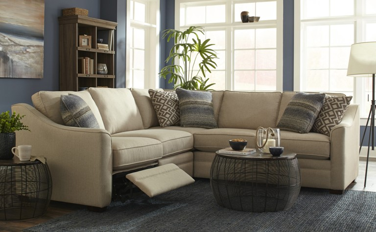 craftmaster reclining sectional