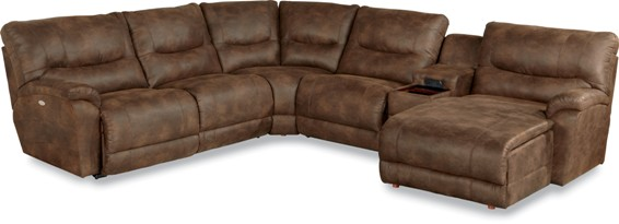 Lazboy Dawson Power Reclining Sectional