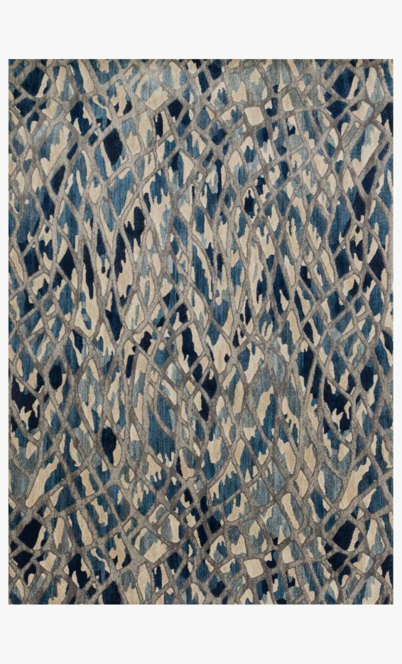 Artic Blue Area Rug