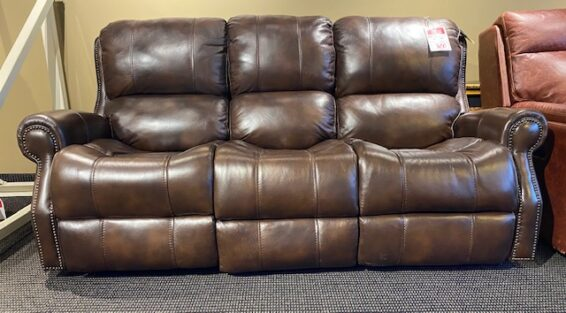 Flexsteel Miles Leather Power Sofa