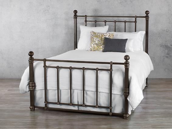 Wesley Allen Iron Bed Hancock Save 20 Off Johnson Furniture