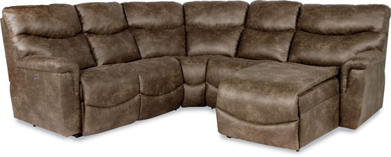 Lazboy James Power Reclining Sectional