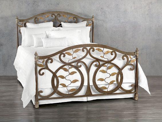 Wesley Allen Iron Bed Laurel