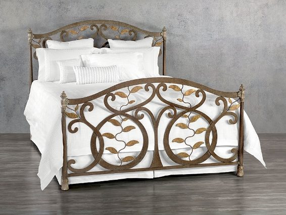 Wesley Allen Iron Bed Laurel