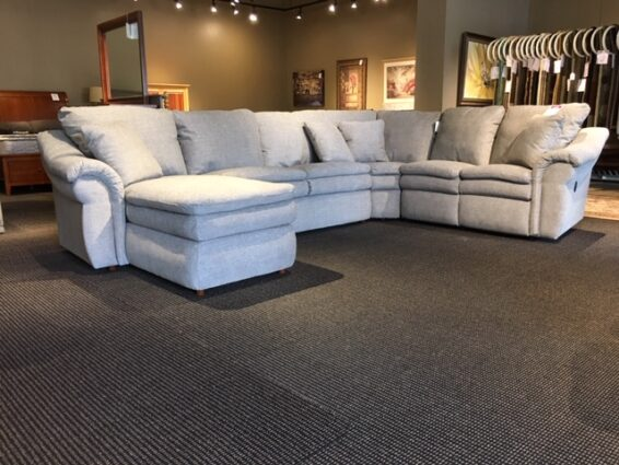 Clearance Lazboy Reclining Sectional