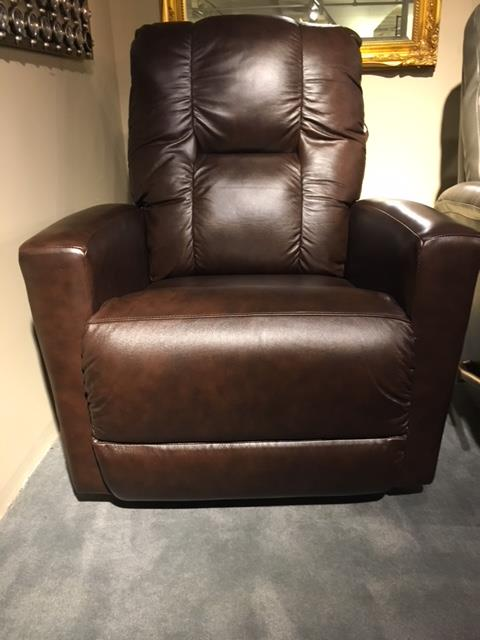clearance leather lazboy rocker recliner
