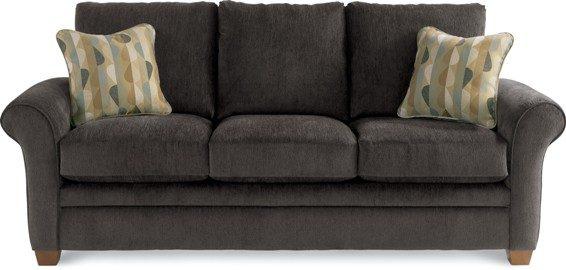 lazboy natalie sofa dark