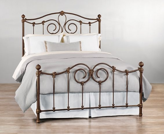 Wesley Allen Iron Bed Olympia Johnson Furniture Mattress