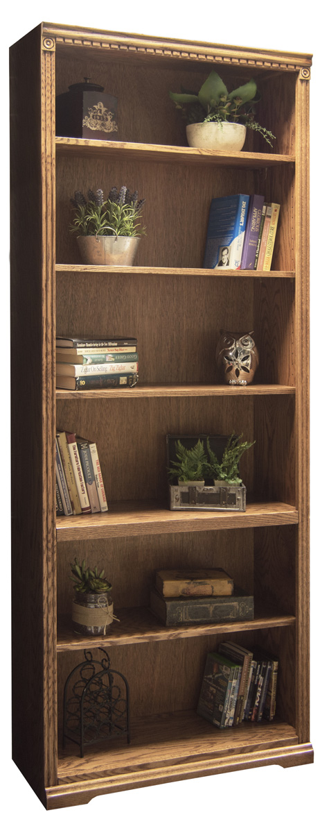 scottsdale oak bookcase
