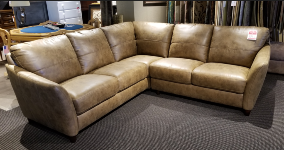 clearance fabric sectional