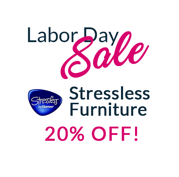 Labor Day Sale on Stressless Furniture Ad
