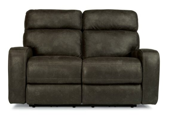Flexsteel Tompkins Power Headrest Loveseat