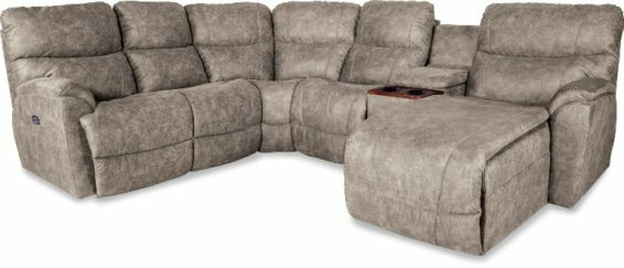 Lazboy Trouper Power Reclining Sectional