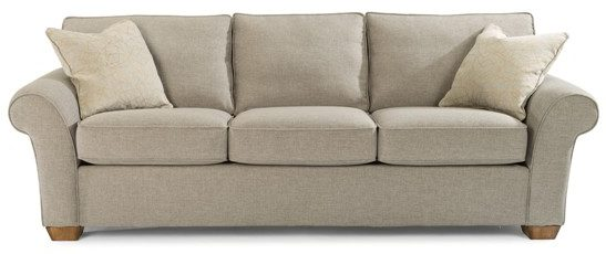 flexsteel vail sofa