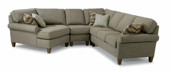 flexsteel westside sectional
