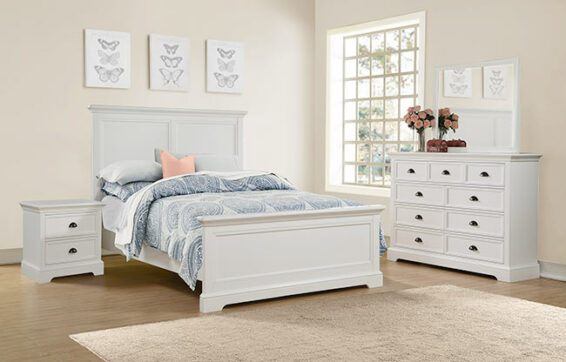 Tamarack White Bedroom