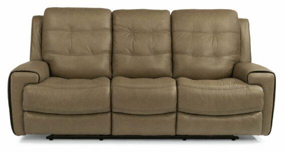 Flexsteel Wicklow Power Headrest Sofa